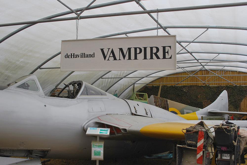Fenland-Aviation-MuseumDe-Havilland-Vampire